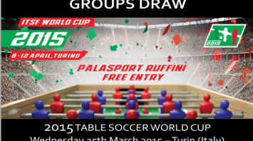2015 ITSF World Cup - Press Release Group Draw