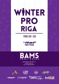 Winter Pro Riga 2018  –  ITSF  Pro Tour